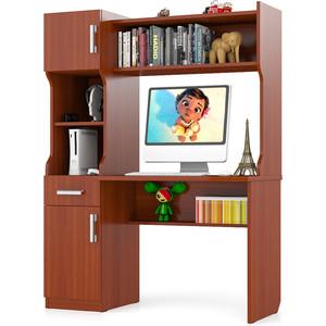 Стол письменный Мебельный двор С-МД-1-02 яблоня овальная площадка для воркаута 1 уровень двор 50 кв м hercules w 1 7 1