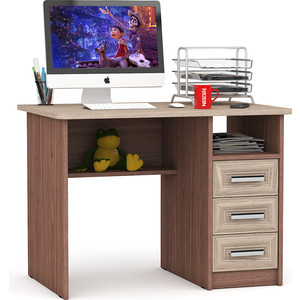 Стол письменный Мебельный двор С-МД-1-05 ясень шимо светлый/ясень шимо темный