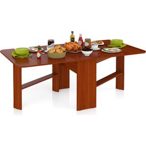 Стол-книжка обеденный Мебельный двор МД-СО-01 яблоня