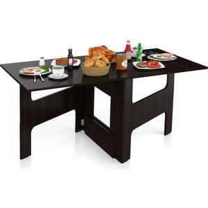 Стол-книжка обеденный Мебельный двор МД-СО-02 венге