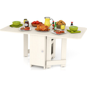 Стол-книжка обеденный Мебельный двор МД-СО-03 дуб