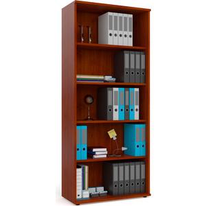 Шкаф для книг открытый Мебельный двор С-МД-2-01 вишня фото