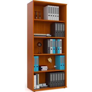 Шкаф для книг открытый Мебельный двор С-МД-2-01 яблоня цена и фото
