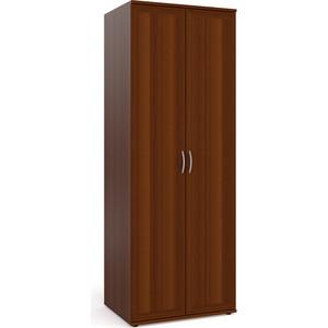 цена на Шкаф для одежды Мебельный двор ШК-2 орех