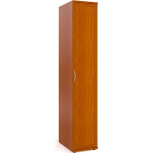 Шкаф-пенал для белья Мебельный двор ШК-7 вишня