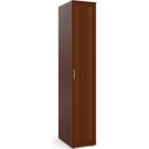 Шкаф-пенал для белья Мебельный двор ШК-7 орех