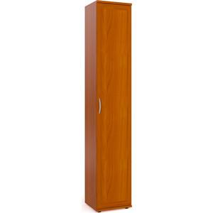 Шкаф-пенал для белья Мебельный двор ШК-7А вишня