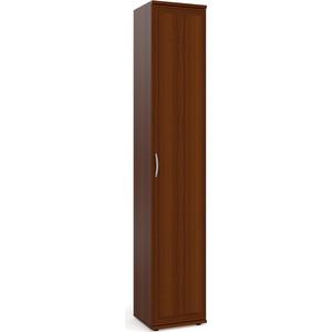 Шкаф-пенал для белья Мебельный двор ШК-7А орех