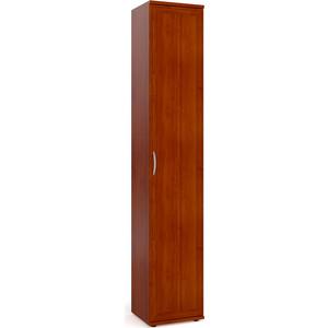Шкаф-пенал для белья Мебельный двор ШК-7А яблоня