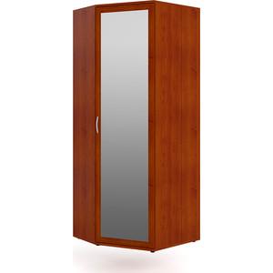 Шкаф угловой с зеркалом Мебельный двор ШК-У-3ерк яблоня