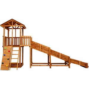 Детская площадка Красная звезда Можга Спортивный городок 2 с зимней горкой СГ2-Р919