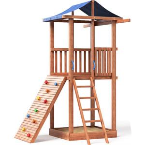 Детская площадка Красная звезда Можга Спортивный городок 3 (крыша тент) СГ3-Тент