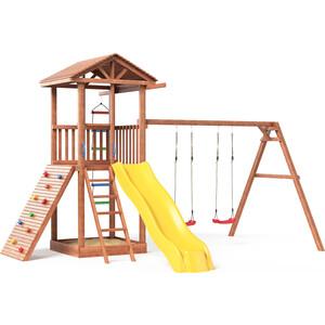 Детская площадка Красная звезда Можга Спортивный городок 5 с качелями СГ5-Р912 игровой комплекс можга спортивный городок 5 сг5