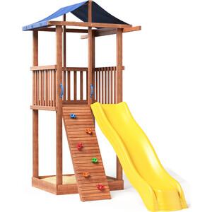цена на Детская площадка Красная звезда Можга Спортивный городок 4 (крыша тент) СГ4-тент