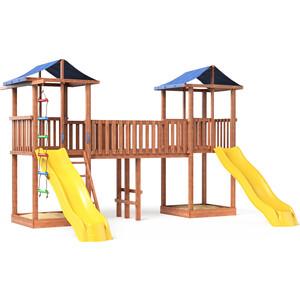 Детская площадка Красная звезда Можга Спортивный городок 6 (крыша тент) СГ6-тент