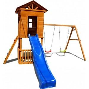 Детская площадка Красная звезда Можга Спортивный городок Избушка с узким скалодромом СГ-И-Р922
