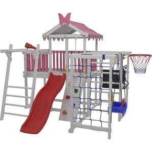 Детский домашний игровой комплекс Красная звезда чердак ДК1Р (розовый)