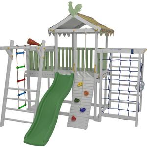 Детский домашний игровой комплекс Красная звезда чердак ДК2Б (бирюзовый)