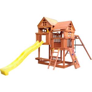 Детский игровой комплекс Красная звезда Панорама с горкой Р955 -1