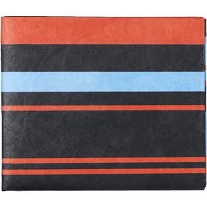 Кошелек New Wallet New Rangarde, черный в полоску NW-088 цена и фото