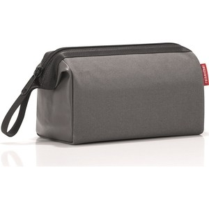 цена Косметичка Reisenthel Travelcosmetic canvas grey WC7050 онлайн в 2017 году
