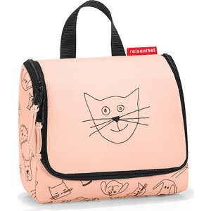 Органайзер детский Reisenthel Toiletbag S cats and dogs rose IO3064