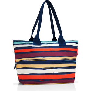 Сумка Reisenthel Shopper E1 artist stripes RJ3058 цена и фото