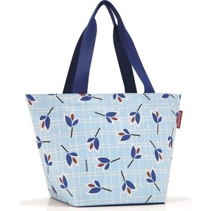 Сумка Reisenthel Shopper M leaves blue ZS4064