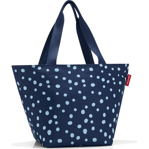Сумка Reisenthel Shopper M spots navy ZS4044