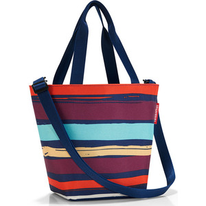 Сумка Reisenthel Shopper XS artist stripes ZR3058 сумка складная reisenthel mini maxi shopper artist stripes