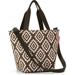 Сумка Reisenthel Shopper XS diamonds mocha ZR6039 размер 31х21х16см
