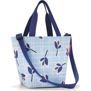 Сумка Reisenthel Shopper XS leaves blue ZR4064