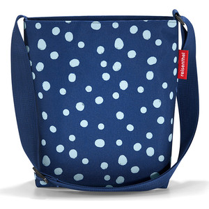 Сумка Reisenthel Shoulderbag S spots navy HY4044