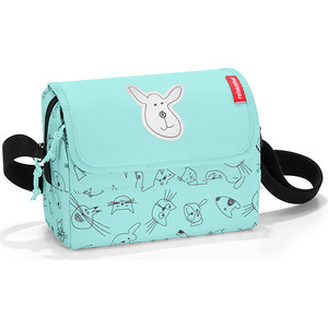 Сумка детская Reisenthel Everydaybag kids cats and dogs mint IF4062