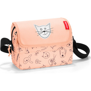 Сумка детская Reisenthel Everydaybag kids cats and dogs rose IF3064