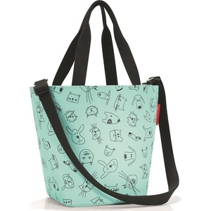 Сумка детская Reisenthel Shopper XS cats and dogs mint IK4062 дождевик детский reisenthel cats and dogs mint ig4062