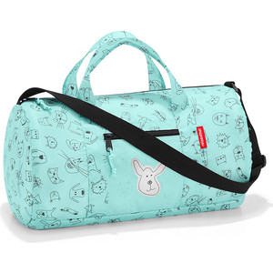 Сумка детская складная Reisenthel Dufflebag cats and dogs mint IH4062