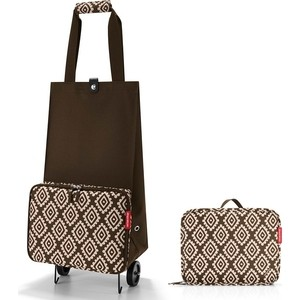 Сумка на колесиках Reisenthel Foldabletrolley diamonds mocha HK6039 сумка на колесиках foldabletrolley baroque taupe 1057663