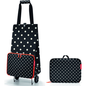 Сумка на колесиках Reisenthel Foldabletrolley mixed dots HK7051 сумка на колесиках foldabletrolley baroque taupe 1057663