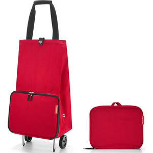 Сумка на колесиках Reisenthel Foldabletrolley red HK3004 сумка на колесиках foldabletrolley baroque taupe 1057663