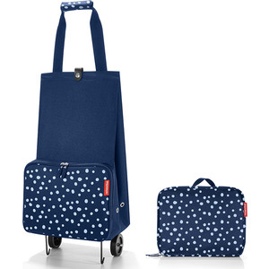 Сумка на колесиках Reisenthel Foldabletrolley spots navy HK4044 сумка на колесиках foldabletrolley baroque taupe 1057663