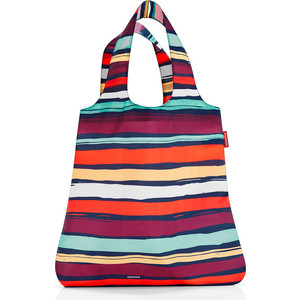 Сумка складная Reisenthel Mini maxi shopper artist stripes AT3058 сумка складная reisenthel mini maxi shopper artist stripes