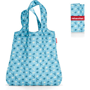 Сумка складная Reisenthel Mini maxi shopper bavaria denim AT4060 сумка складная reisenthel mini maxi shopper artist stripes