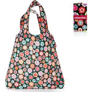 Сумка складная Reisenthel Mini maxi shopper happy flowers AT7048 reisenthel сумка складная mini maxi shopper spots navy mr gvuyb