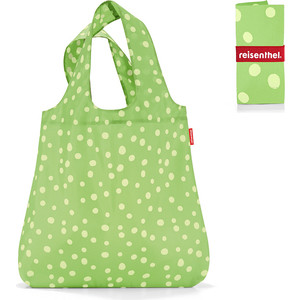 Сумка складная Reisenthel Mini maxi shopper spots green AT5039 сумка складная reisenthel mini maxi shopper artist stripes