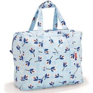 Сумка складная Reisenthel Mini maxi touringbag leaves blue AD4064 цена