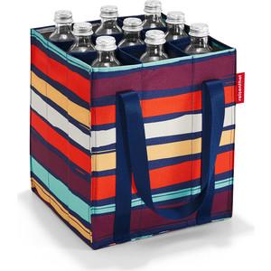 Фото - Сумка-органайзер для бутылок Reisenthel Bottlebag artist stripes ZJ3058 сумка органайзер для бутылок reisenthel bottlebag spots navy zj4044