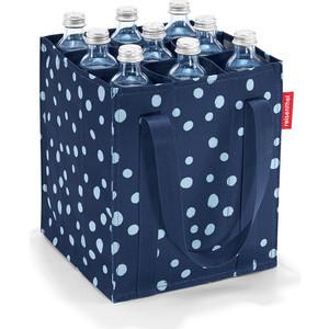 купить Сумка-органайзер для бутылок Reisenthel Bottlebag spots navy ZJ4044 по цене 1100 рублей