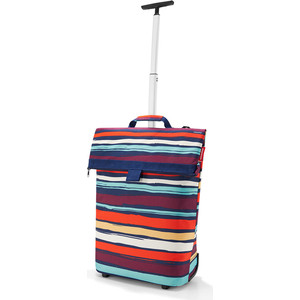 Сумка-тележка Reisenthel Trolley M artist stripes NT3058