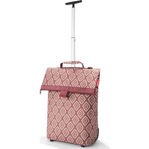 Сумка-тележка Reisenthel Trolley M diamonds rouge NT3065